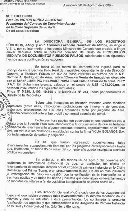 Paraguay: Estafan A ...