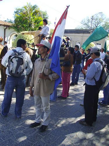 Marcha Campesina 4 13-08-2009 por ti.